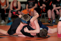Wabash Jr. High Wrestling 3 way (Northfield, Oak Hill) 2014