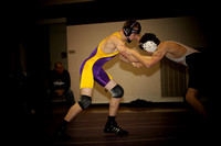 Northwestern jr. high Wrestling 2012